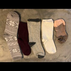 H&M Accessories - Nike no-show socks, H&M, Dicks socks new or EUC.